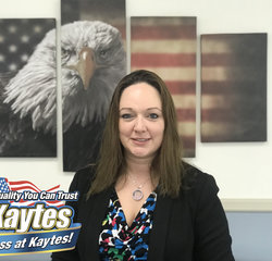 Sales Consultant Danielle Delaney in Sales at Leo Kaytes Ford