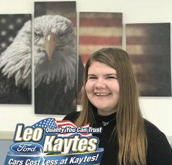 Customer Cares Representative Sara Smith in Customer Cares at Leo Kaytes Ford