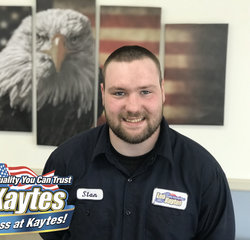 Service Technician Stan Steneck in Service at Leo Kaytes Ford
