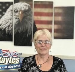 General Sales Manager Leslie Culkin in Sales at Leo Kaytes Ford