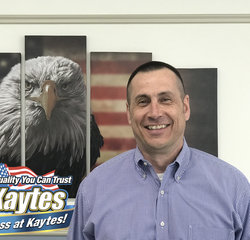 Service Manager Rick Braun in Service at Leo Kaytes Ford