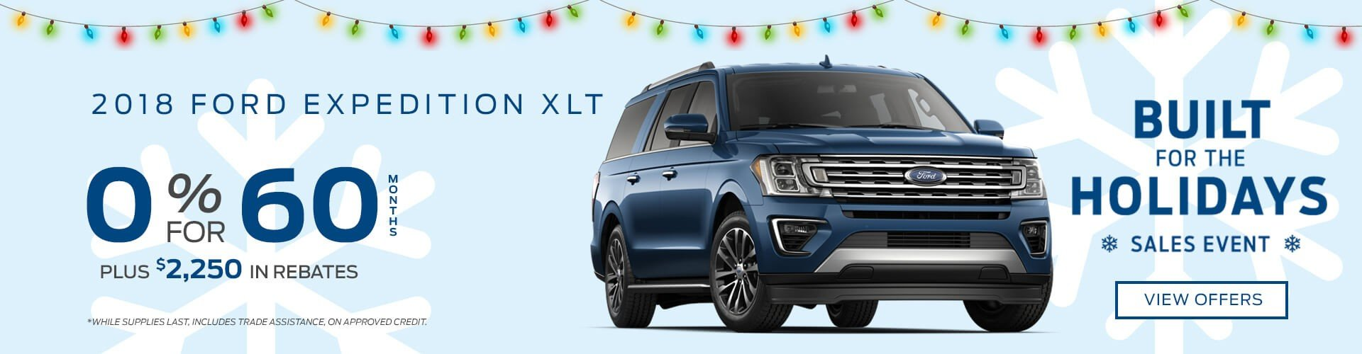 Special offer on 2018 Ford Expedition 2018 Ford Expedition XLT