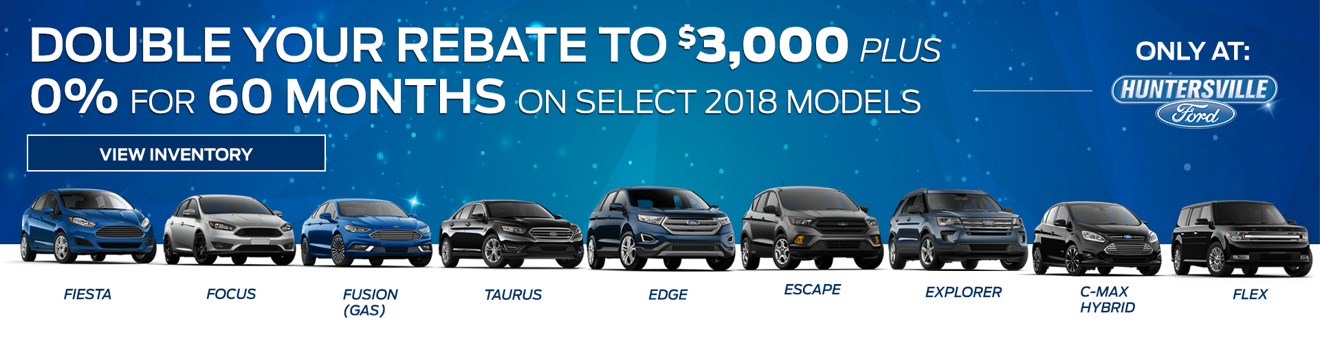0% for 60 Months Plus $3,000