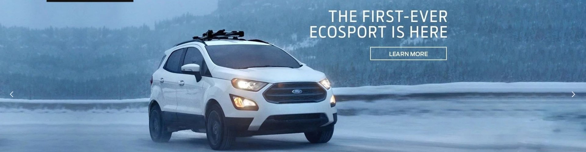 The First Ever Ecosport is here