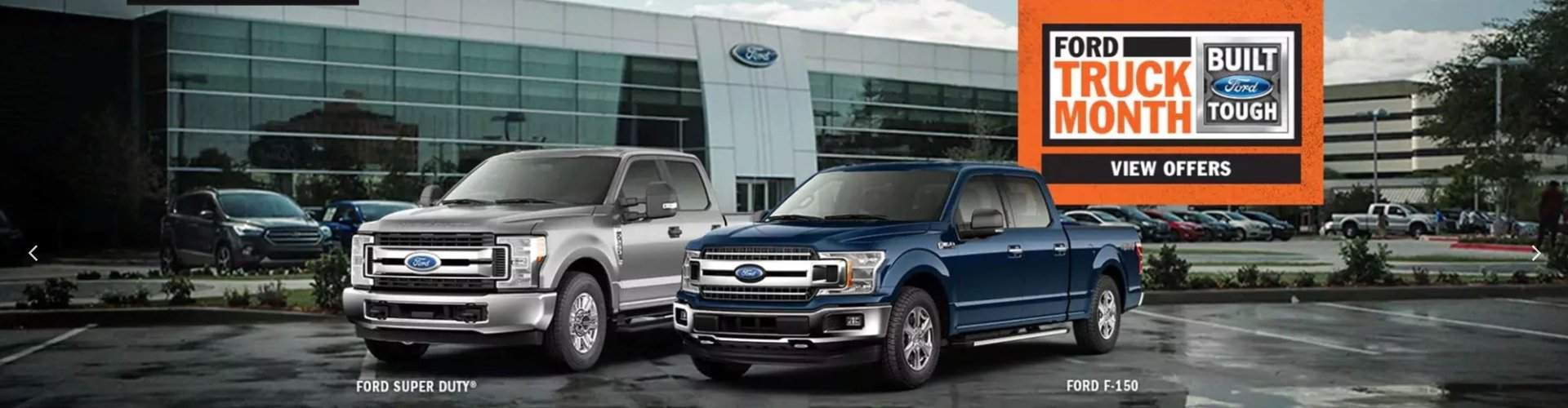 Truck Month at Huntersville Ford