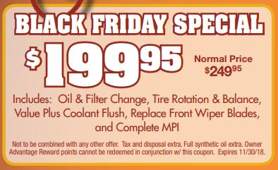 Coupon for Black Friday Special Original Price: $249.95