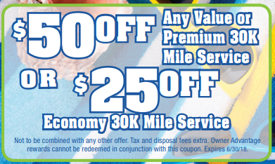 Coupon for Service Special! Up to $50 off depending on service