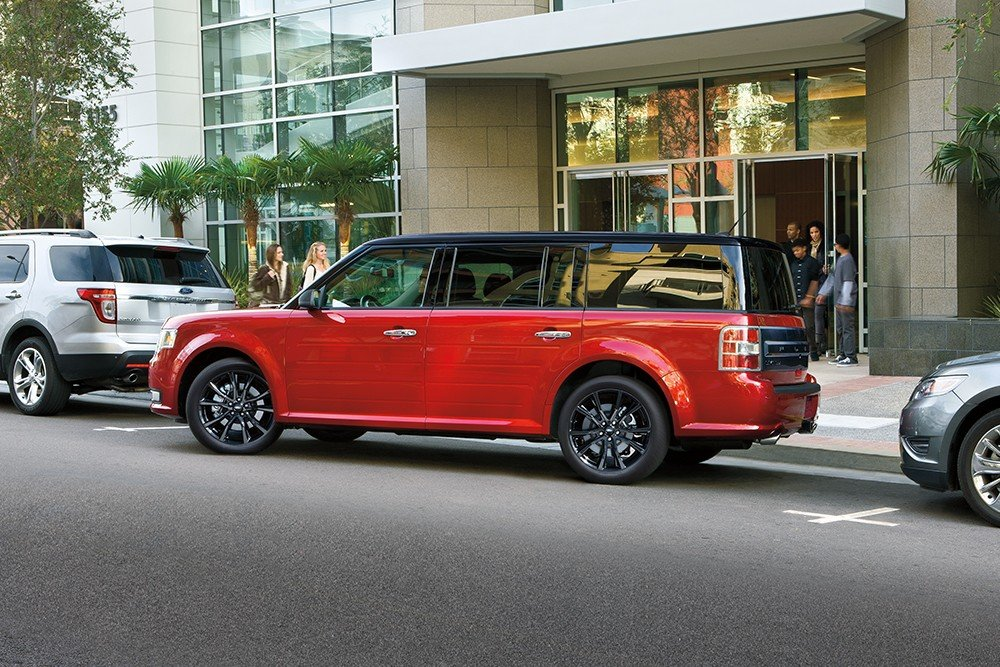 Red 2019 Ford Flex