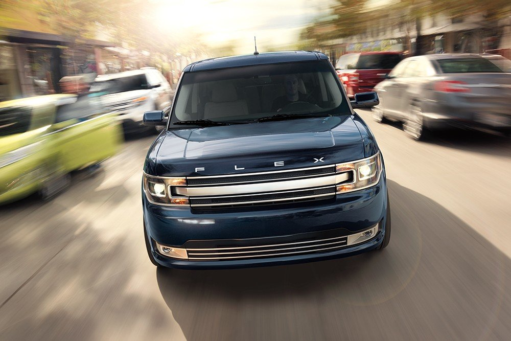 Blue 2019 Ford Flex