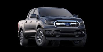 dark grey 2019 ford ranger lariat for sale at Asheville Ford