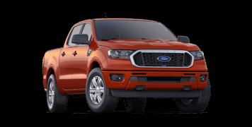 red 2019 ford ranger xlt pickup truck for sale
