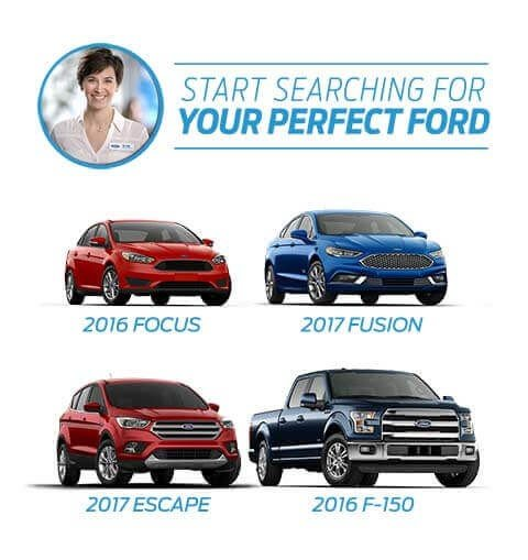 Start searching for your Perfect Ford Match