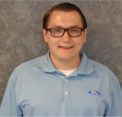 Sales Professional  Justin Falcon in Sales at Huntersville Ford