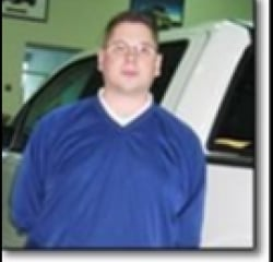 Parts & Service Director Lucas Bassinger in Managers at Huntersville Ford
