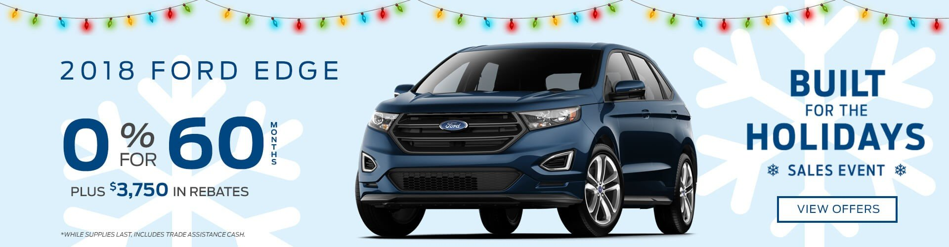 Special offer on 2018 Ford Edge 2018 Ford Edge