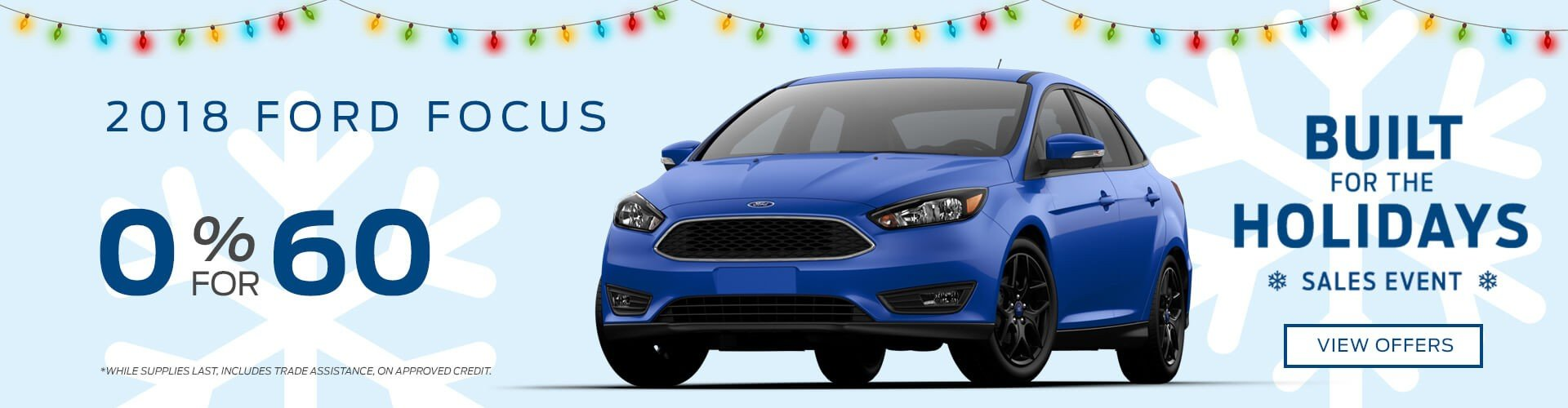 Special offer on 2018 Ford Focus 2018 Ford Focus