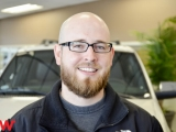 Service Advisor Ramsay Davis in Service at Seth Wadley Buick GMC