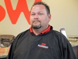 Service Advisor Travis Miller in Service at Seth Wadley Buick GMC