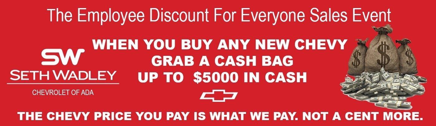 Ada Chevy Cash Bag