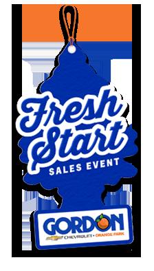 gordon chevy fresh start sales event