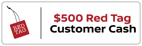 500 in red tag bonus cash
