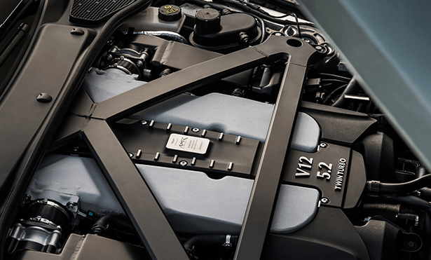 special edition AMR engine on the Aston Martin DB11