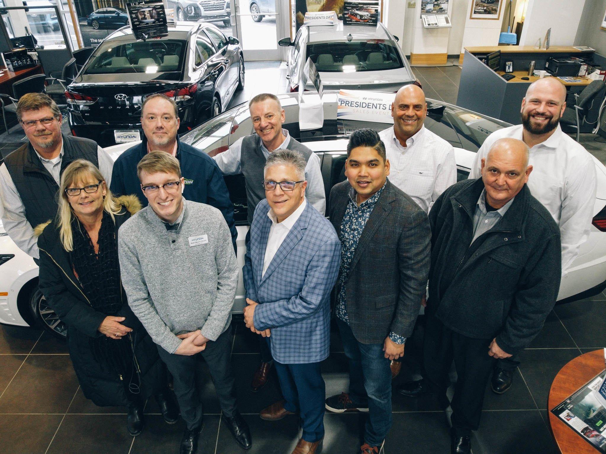 the team at Hyundai of Wentzville