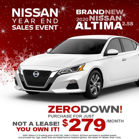 nissan altima offer