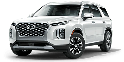 all new hyundai palisade sel in white