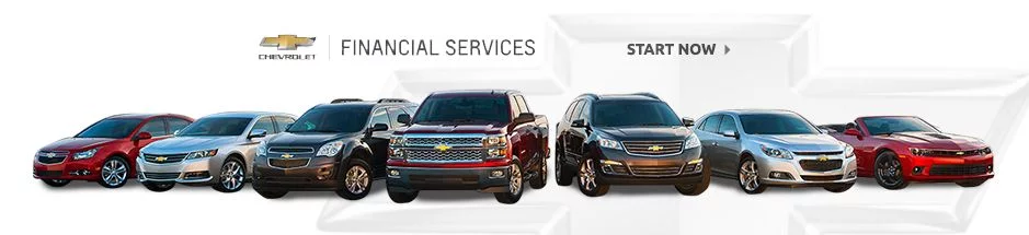 Auto financing on any new Chevrolet vehicle for sale