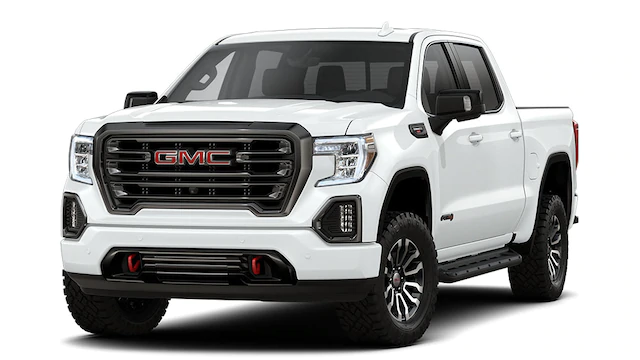 summit white color on the all new gmc sierra 1500 at4