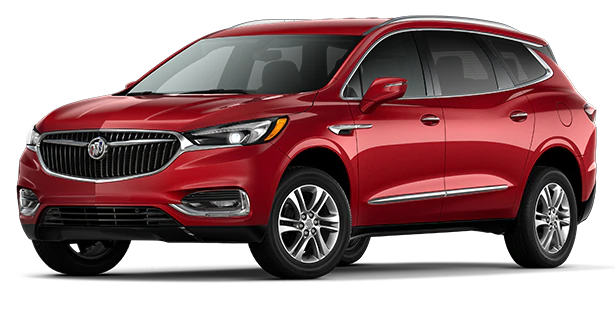 red 2020 buick enclave preferred