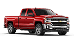 Red 4-door Chevy silverado 1500 pickup truck in Ada OK