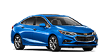 Blue Chevy Cruze sedan for sale at Seth Wadley Chevrolet Buick of Ada