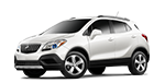White Buick encore luxury suv for sale