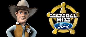 Marshal Mize Ford Cowboy Logo