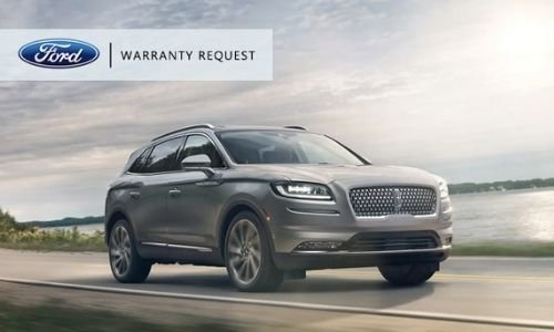 Warranty Request from OC Welch Ford Lincoln