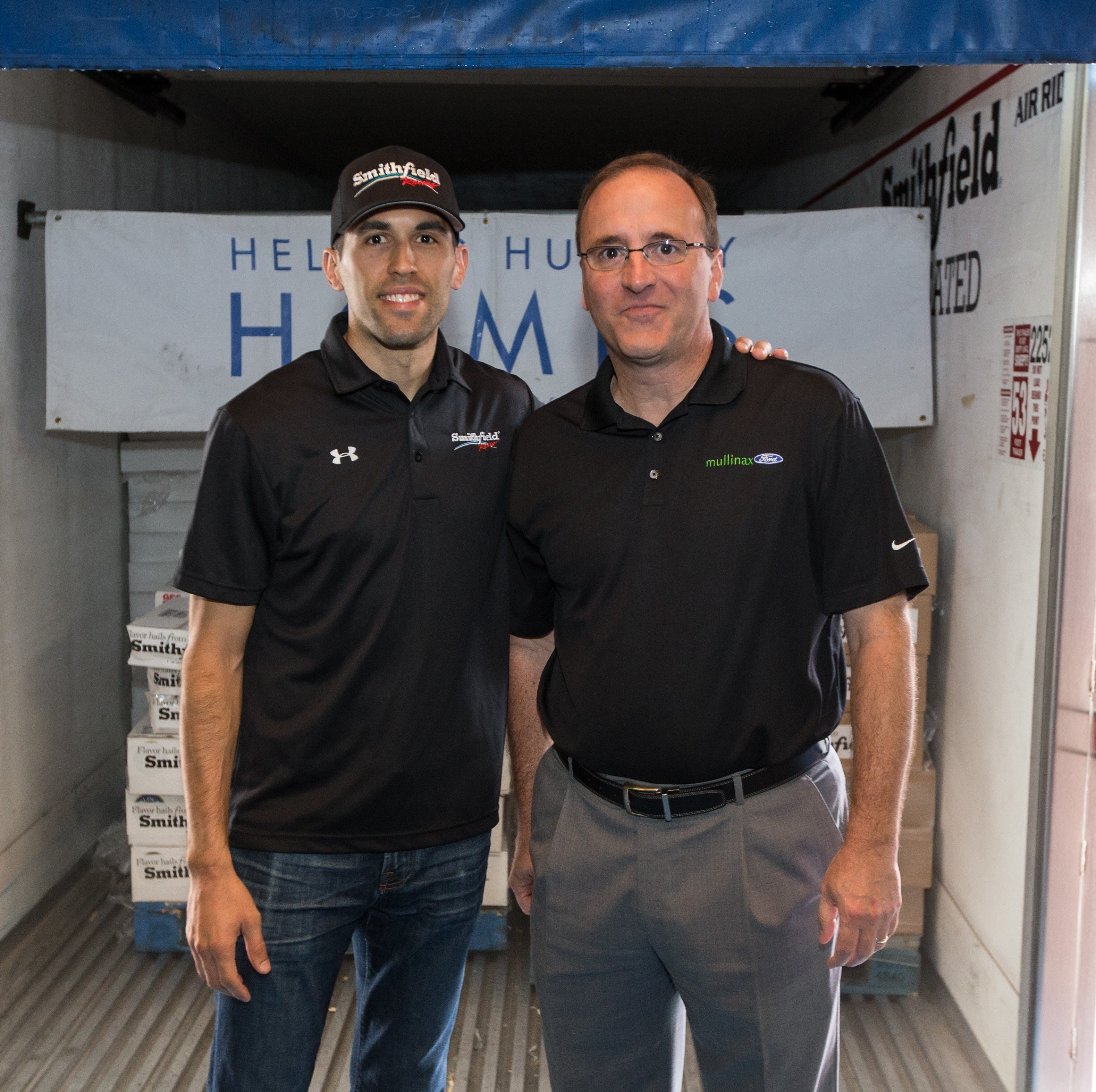 Mullinax Ford - Second Harvest - Aric and Larry