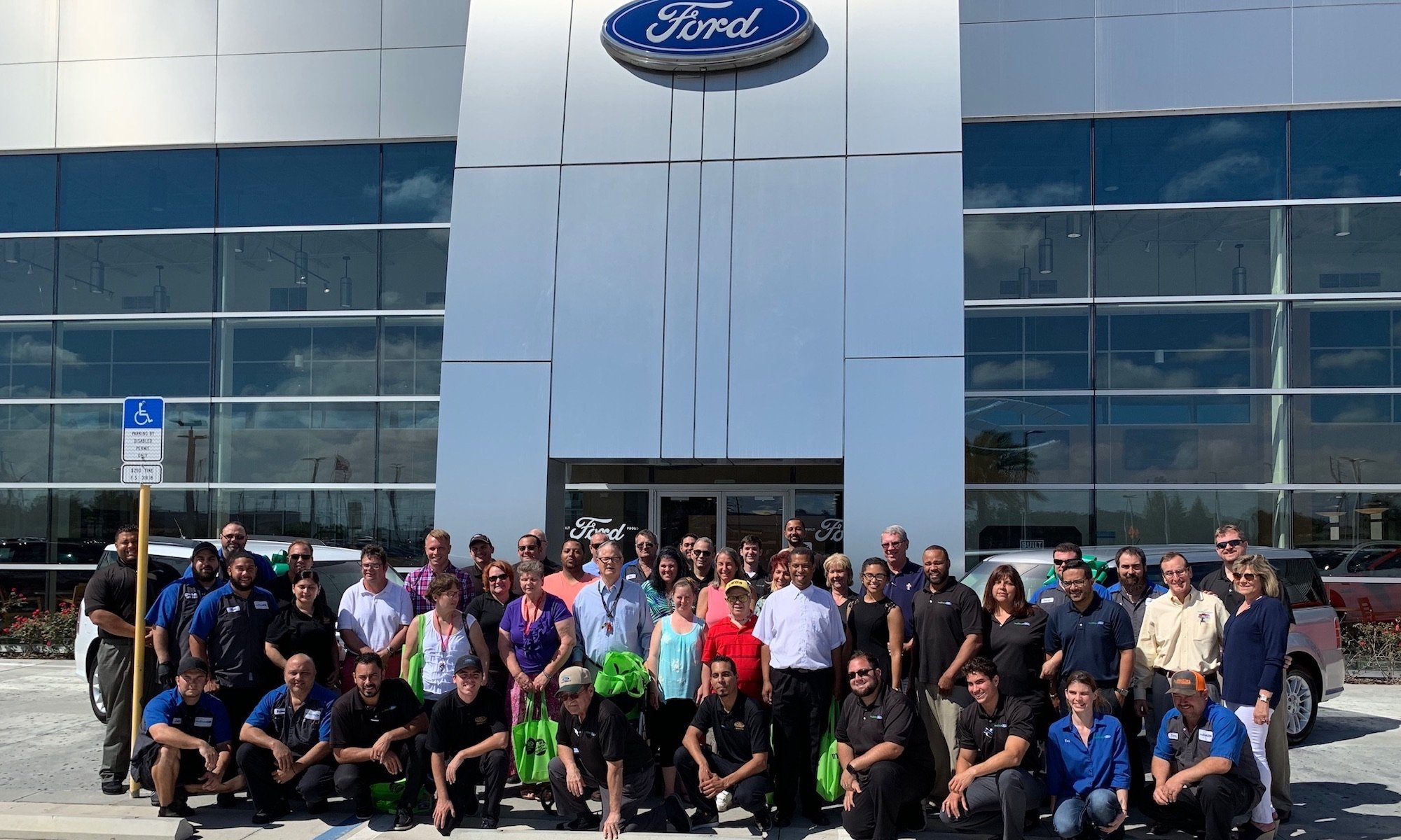 Mullinax Ford of Kissimmee and Bishop Grady - Salute to Dealers Award
