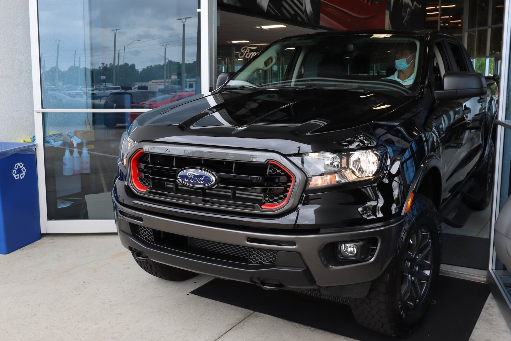 Mullinax Ford - Hole-in-One Ranger Tremor Edition Truck Prize - Front Exit