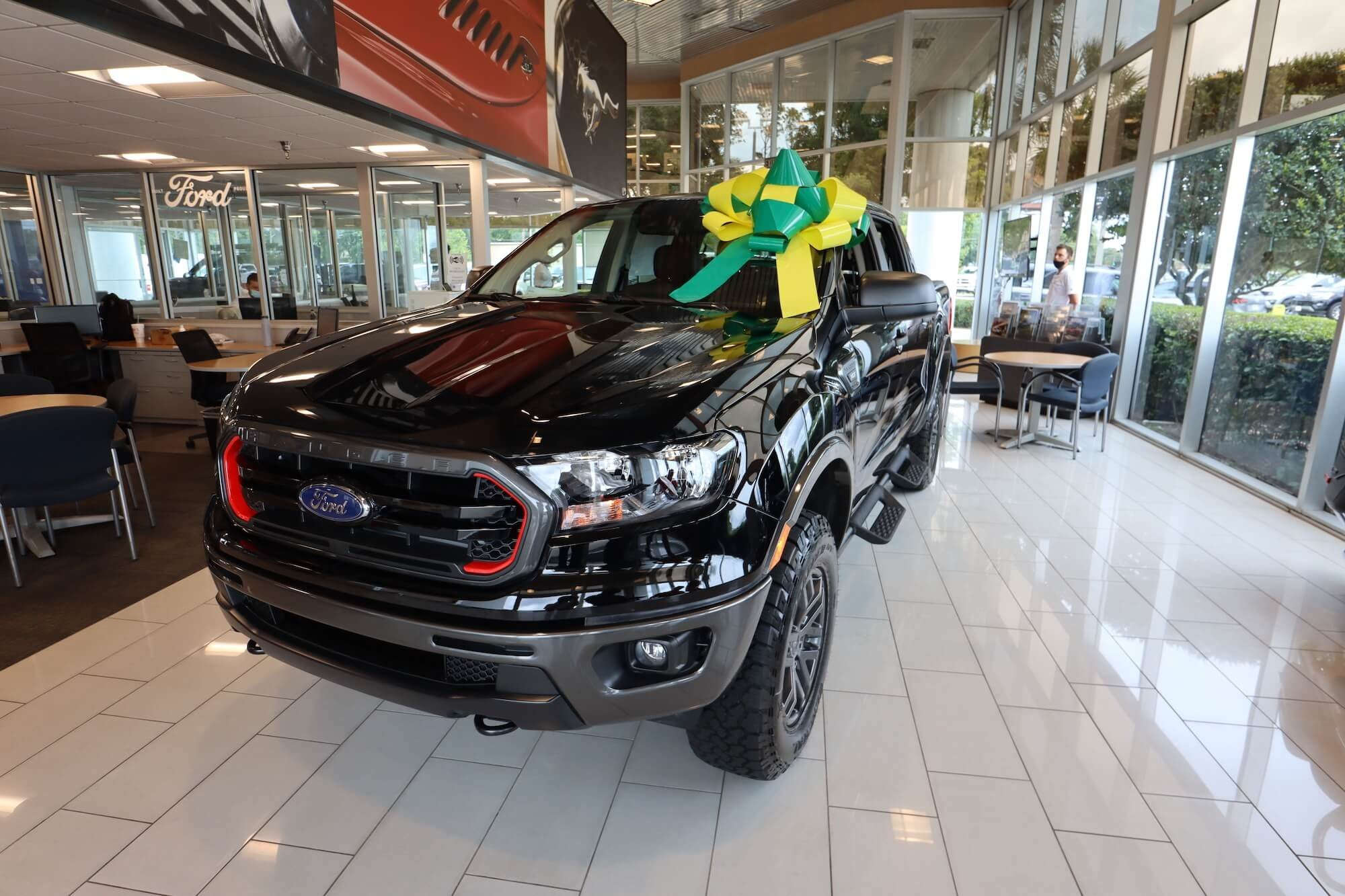 Mullinax Ford - Hole-in-One Ranger Tremor Edition Truck Prize - Front 1