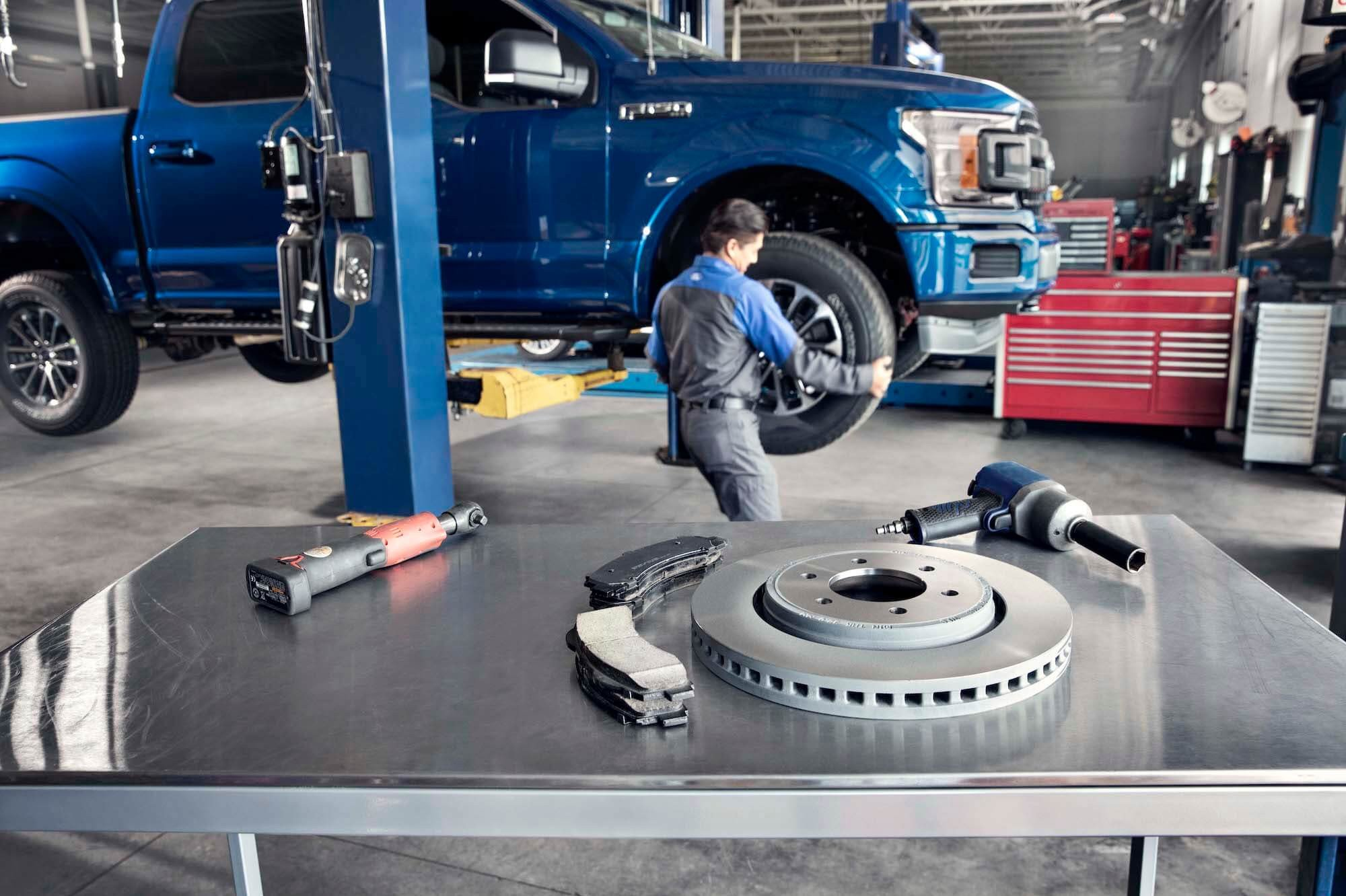 Replacement Brake Pads and Rotor - Parts Center - Mullinax Ford