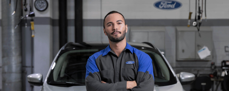 Mullinax Ford - Service Technician - Banner