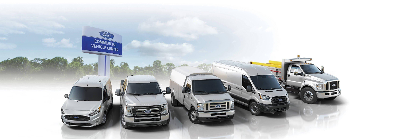 Mullinax Ford Commercial Center - Fleet Lineup - Work Trucks and Vans