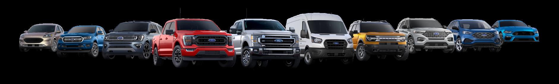 Mullinax Ford Custom Order - Ford Model Lineup