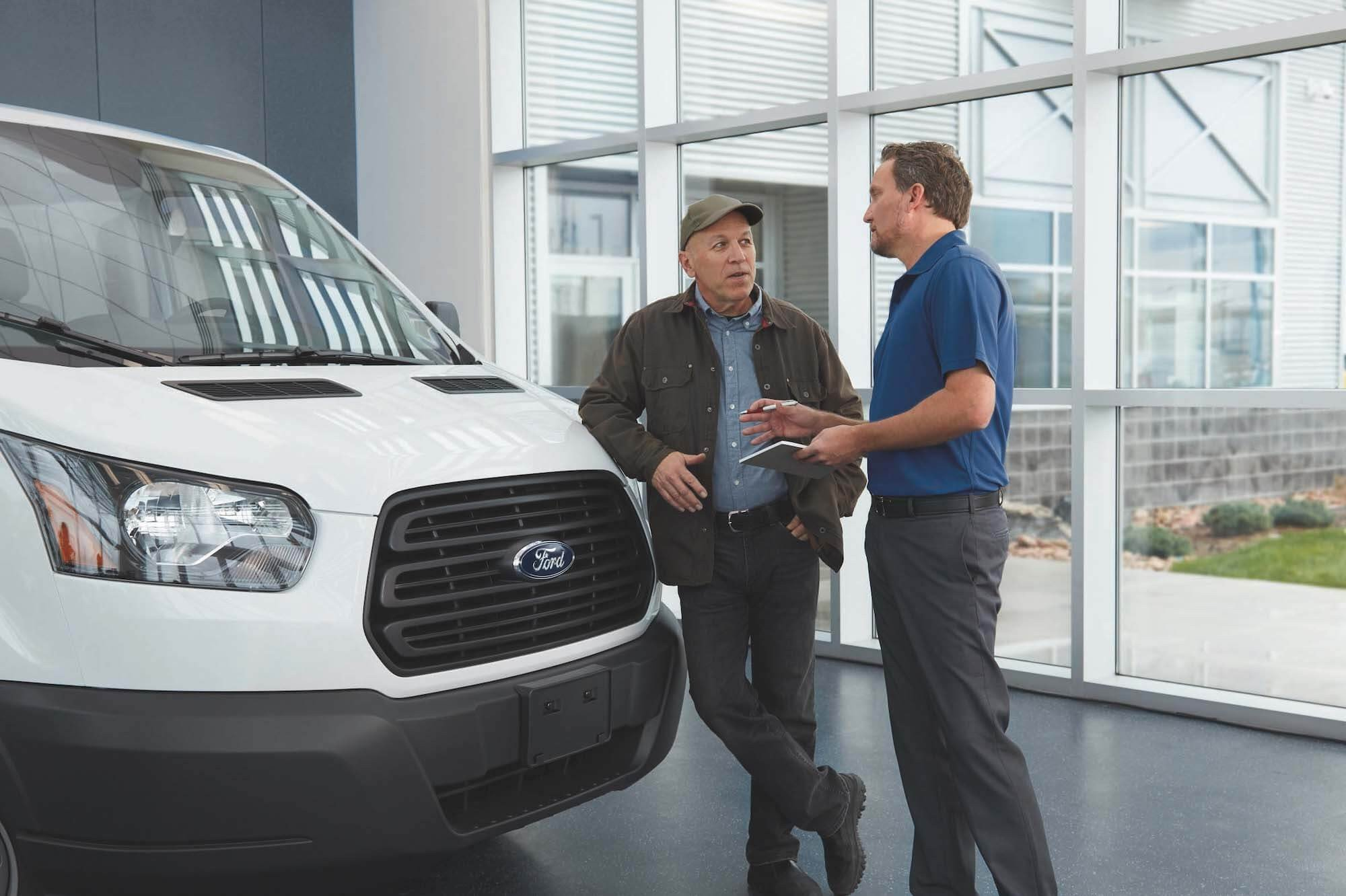 Mullinax Ford - Commerical Sales Consultant with Customer