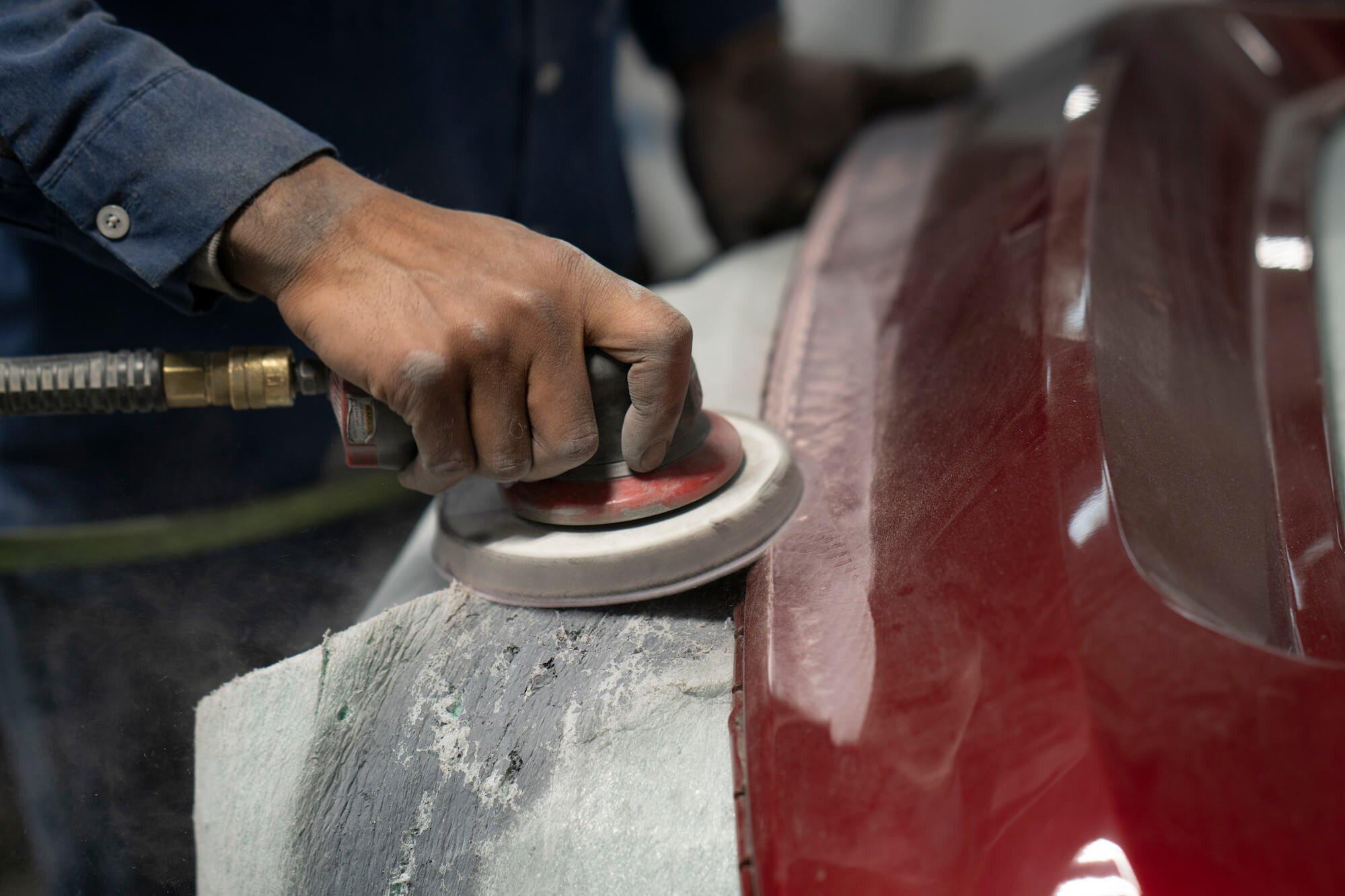 Mullinax Ford - Body Shop Technician Sanding