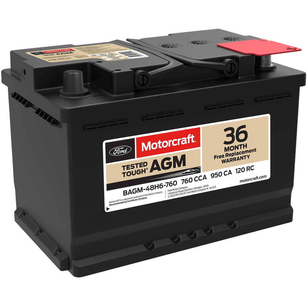 Replacement Battery - Parts Center - Mullinax Ford
