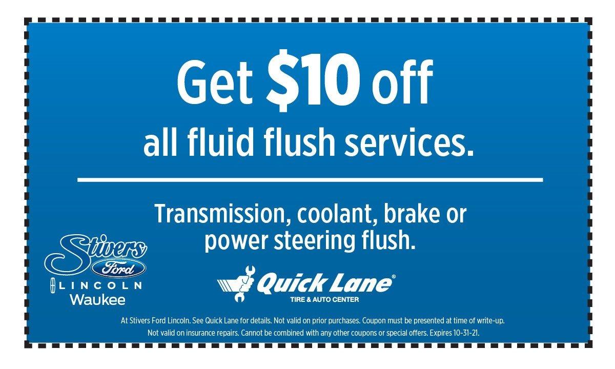 quick lane flush