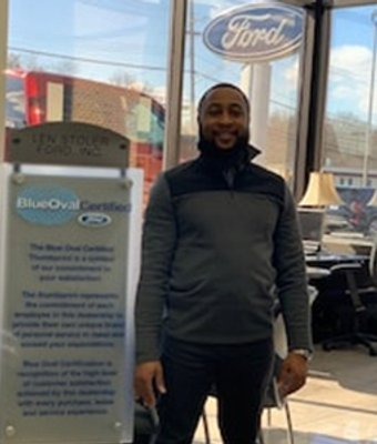 Ford Sales Andre Harrell in Sales at Len Stoler Ford